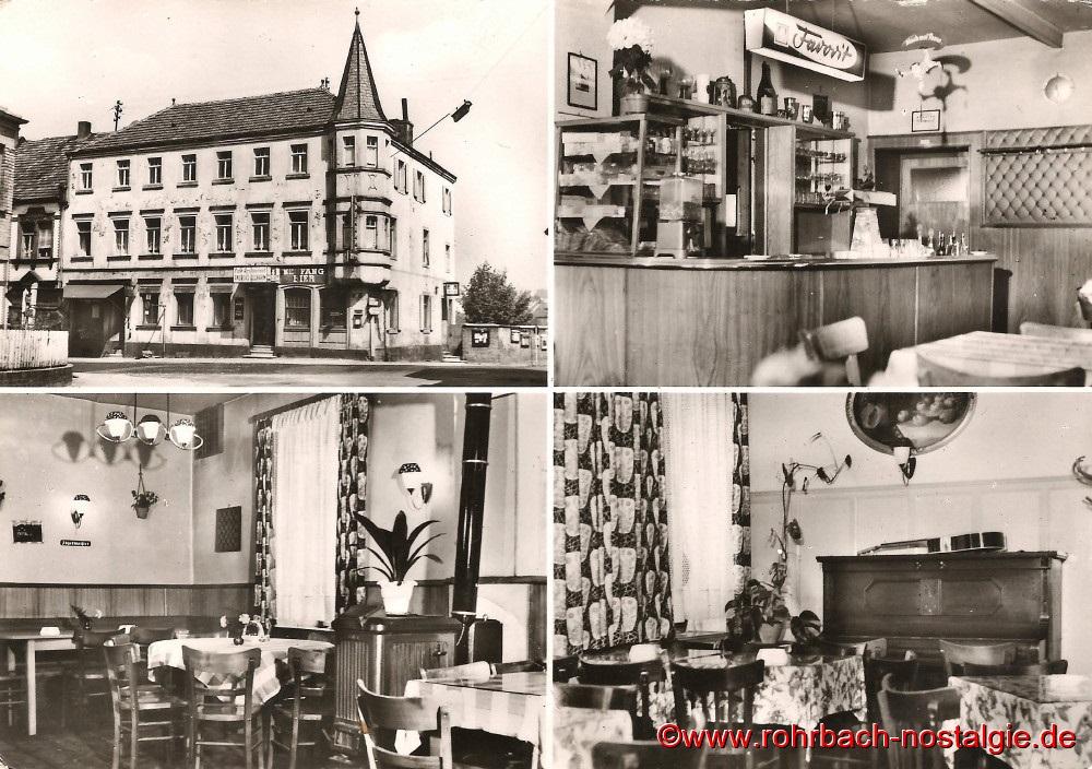 1955 Postkarte vom Gasthaus Persil