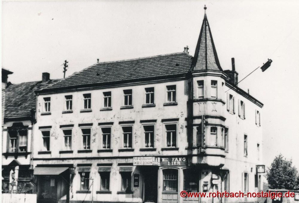 Das Gasthaus Persil im Jahr 1955