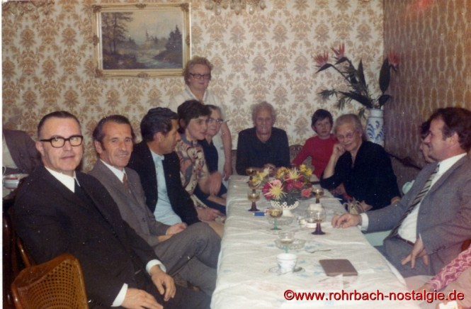 1972 Cafekränzchen im Cafe Persil