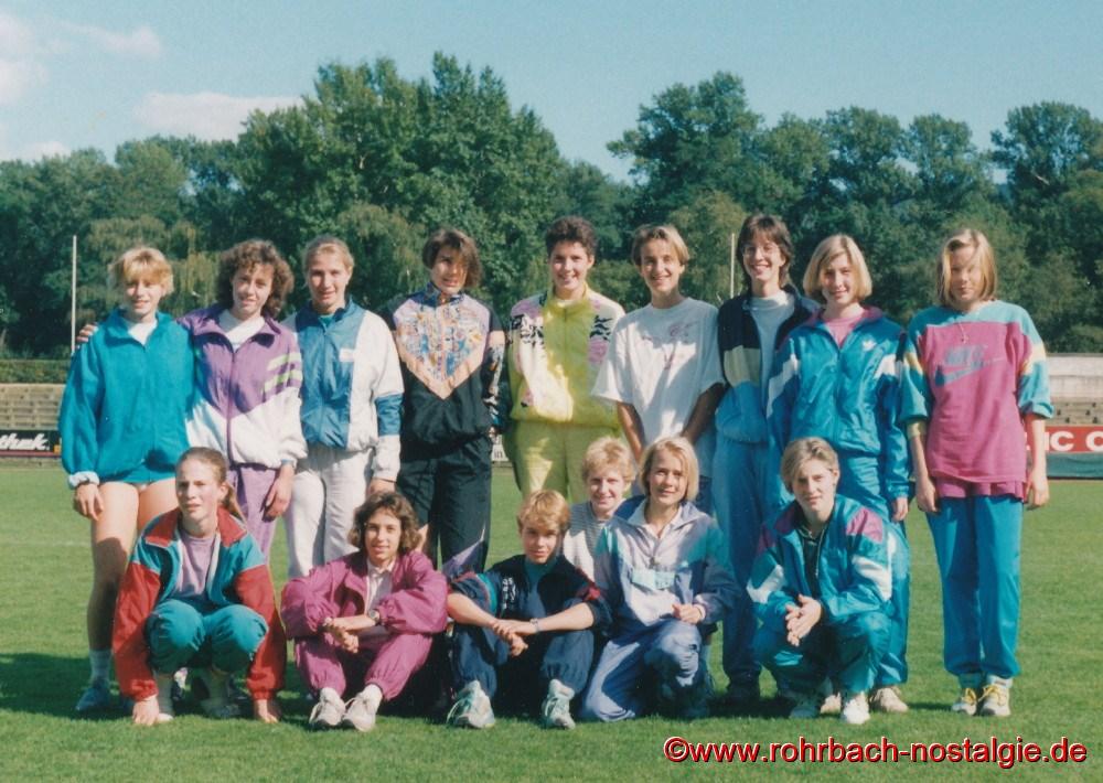 September 1990 Schülervergleichskampf in Koblenz:
