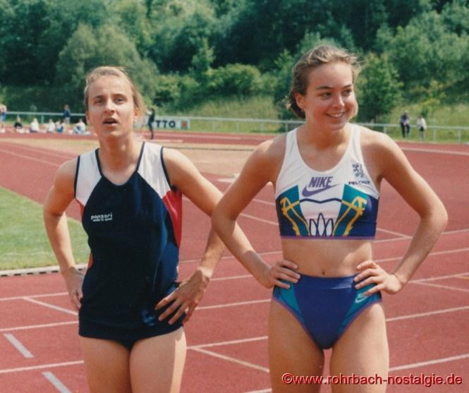 1994 Sandra abel siget im 100 m Endlauf gegen Stephanie Hort (SV Saar 05)