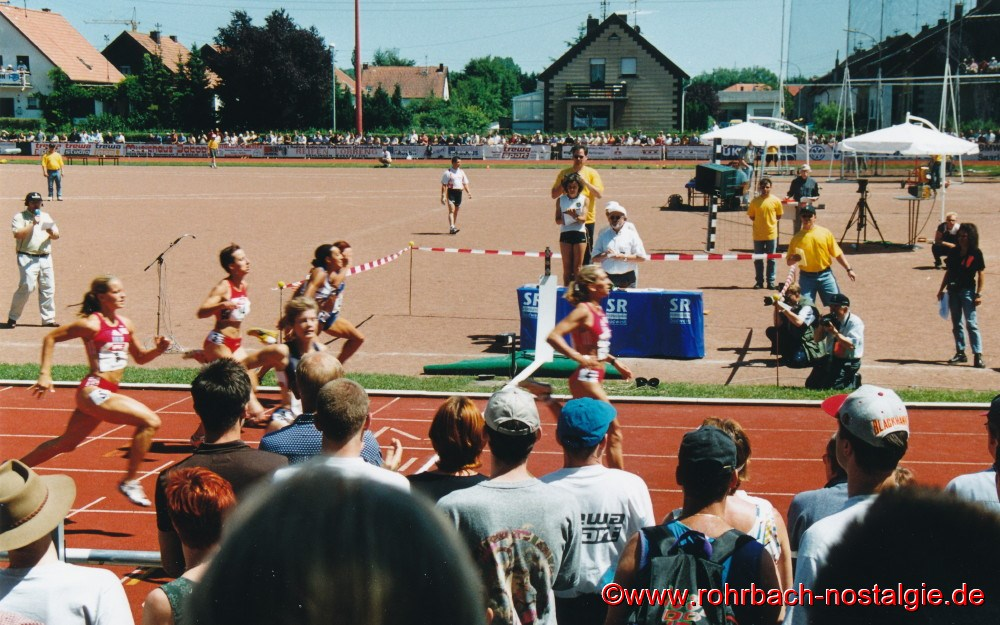 12. Juni 2000 Internationales Pfingstsportfest in Rehlingen.