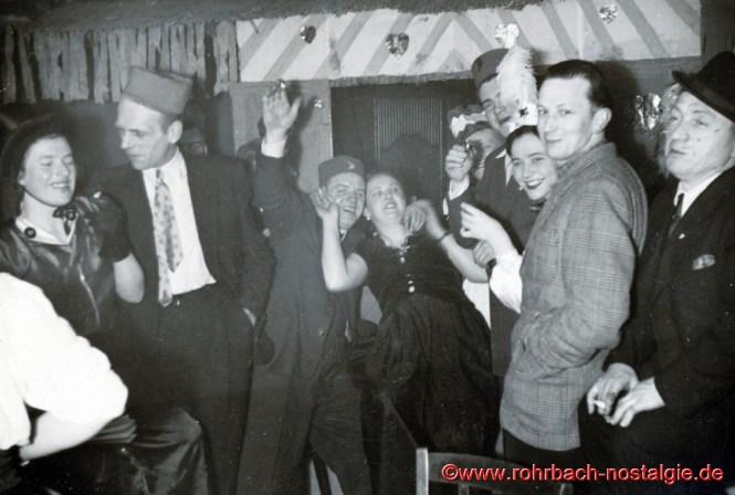 Faasenacht im Sälchen des Gasthauses Persil