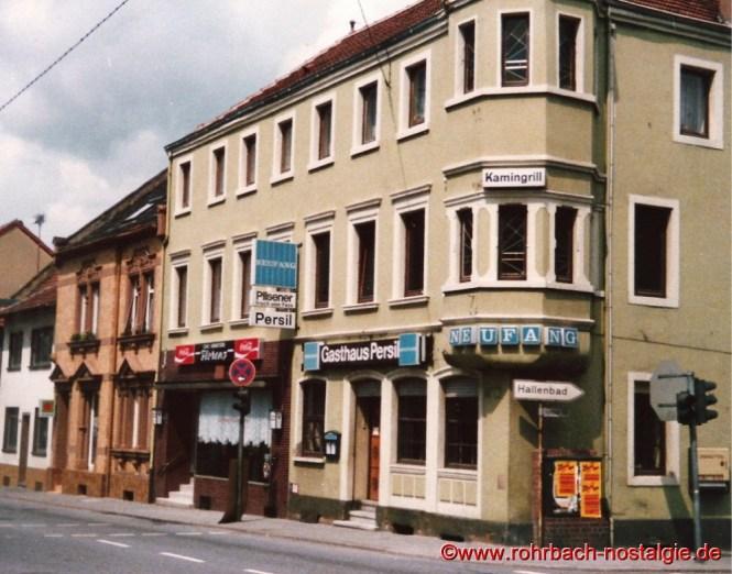 Das Gasthaus Persil in den 80er Jahren